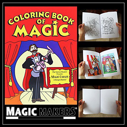 Color Changing Book - Easy Magic Trick (Magic Coloring Book): Buy ...