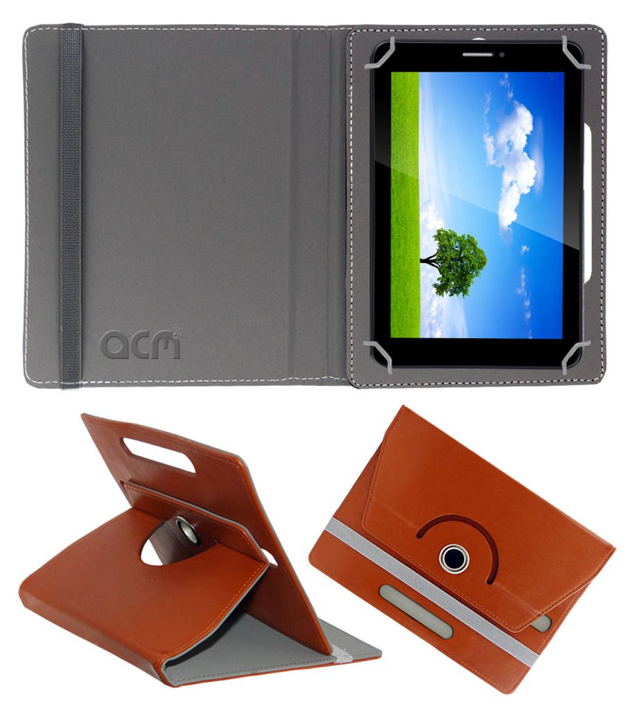 Iball Slide 6351 Q40 Flip Cover By ACM Brown