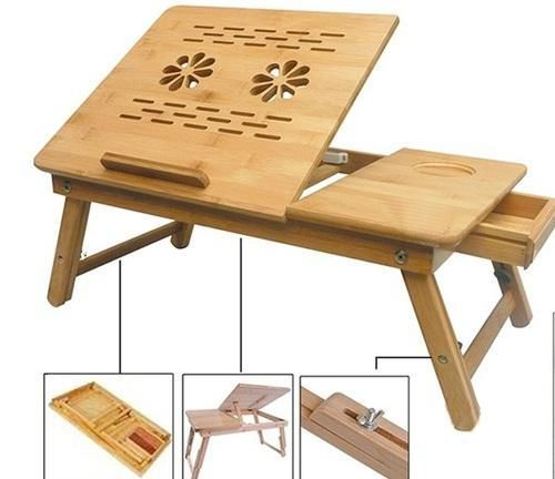 IBS Tablemate II Portable Wooden Laptop Table ...