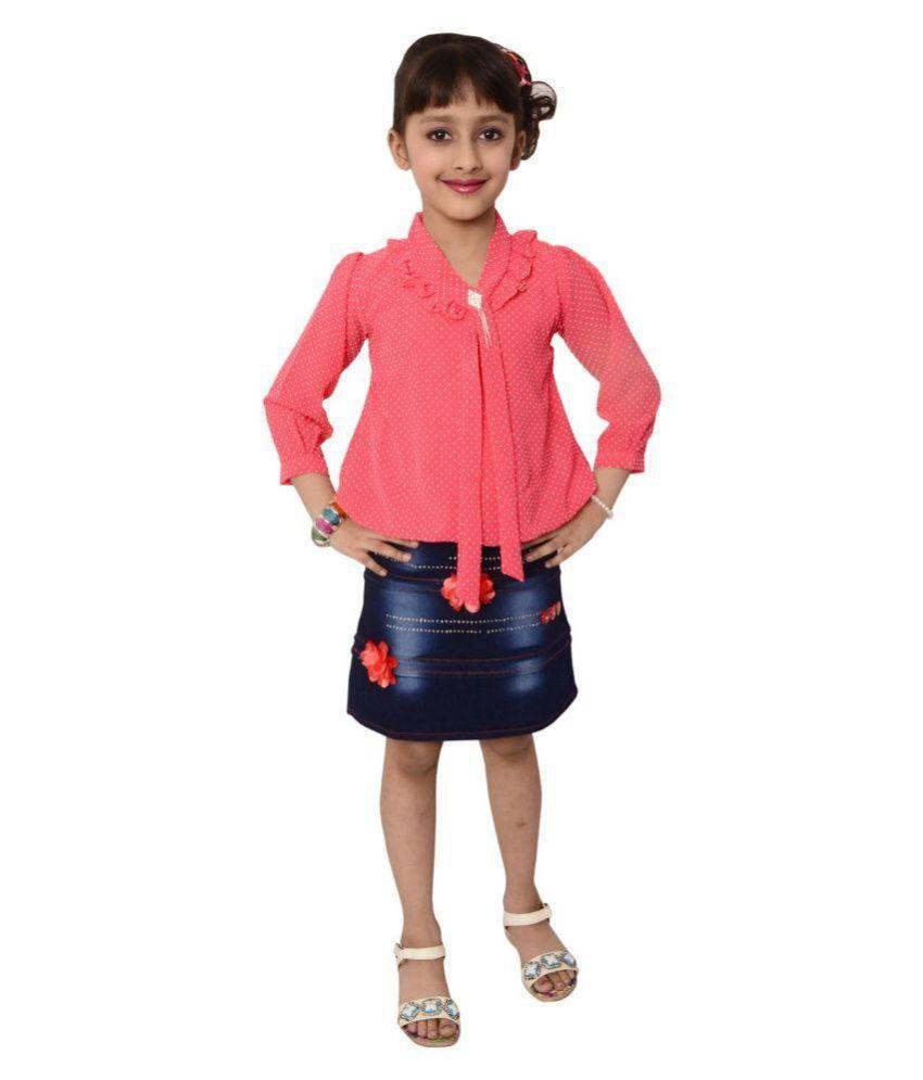Arshia Fashions Multicolour Dress