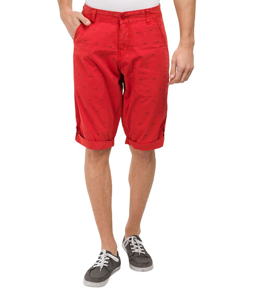 Locomotive Red Shorts