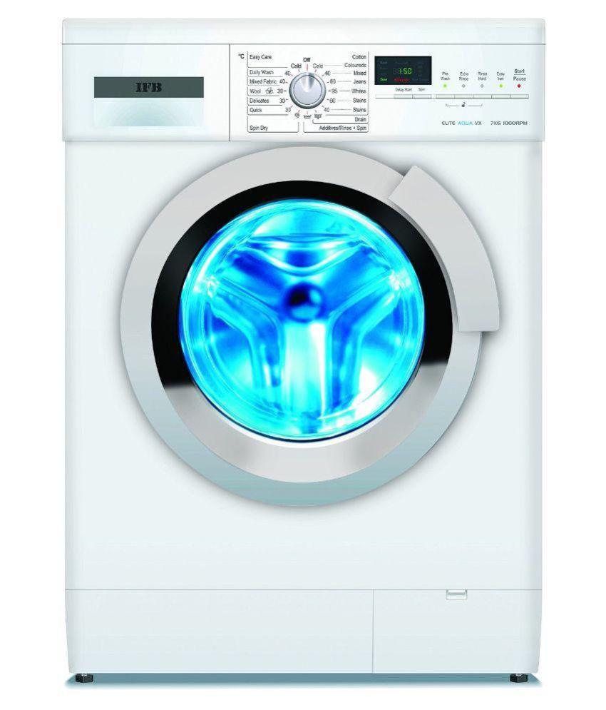 IFB 7 Elite Aqua VX   7 kg White Fully Automatic Fully Automatic Front Load Washing Machine White