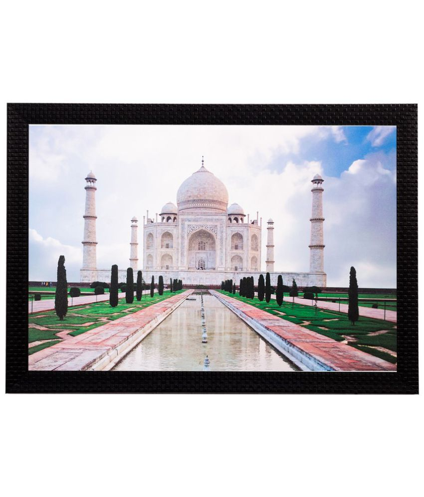 eCraftIndia Wood Art Prints With Frame Single Piece