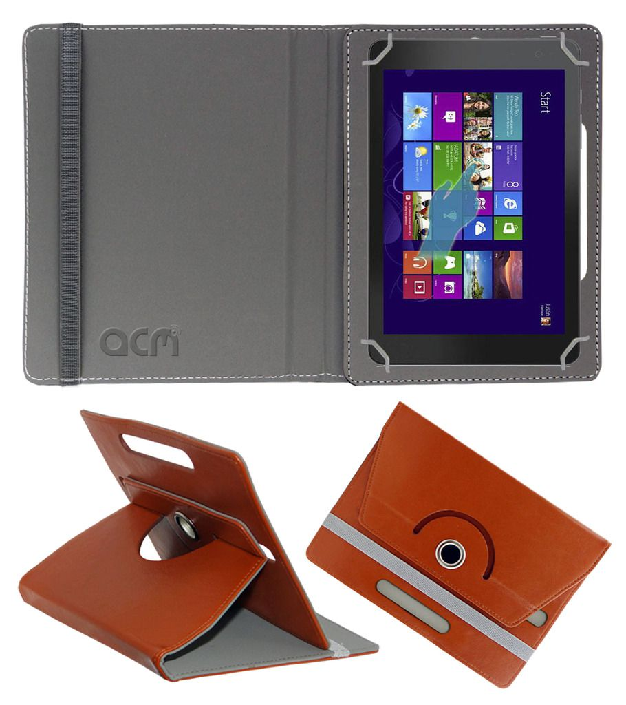 Dell Venue 8 Pro Flip Cover By ACM Brown