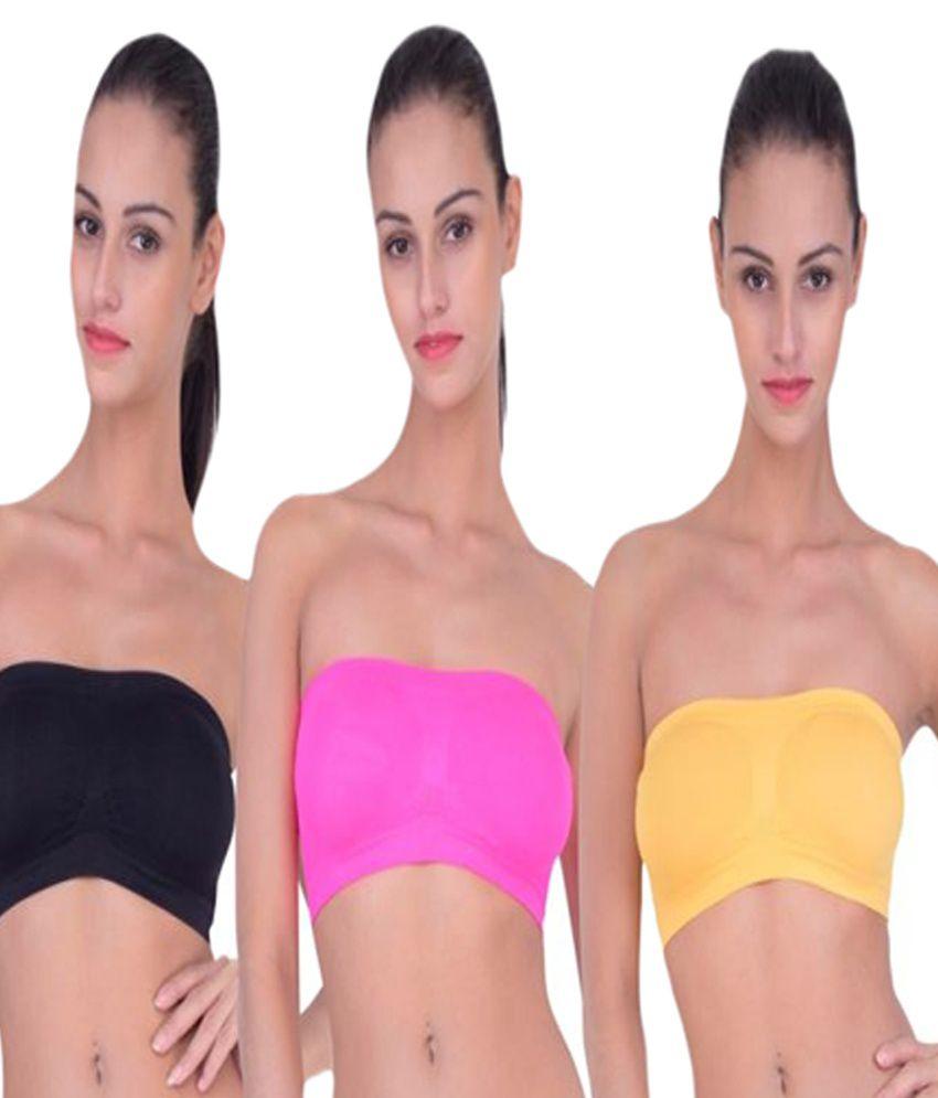 SEK Multi Color Cotton T-Shirt/ Seamless Bra