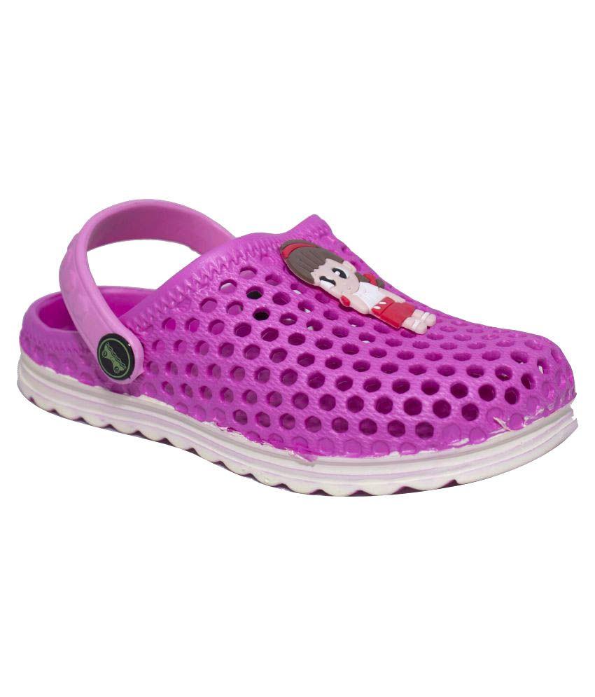 Phedarus Pink Clogs