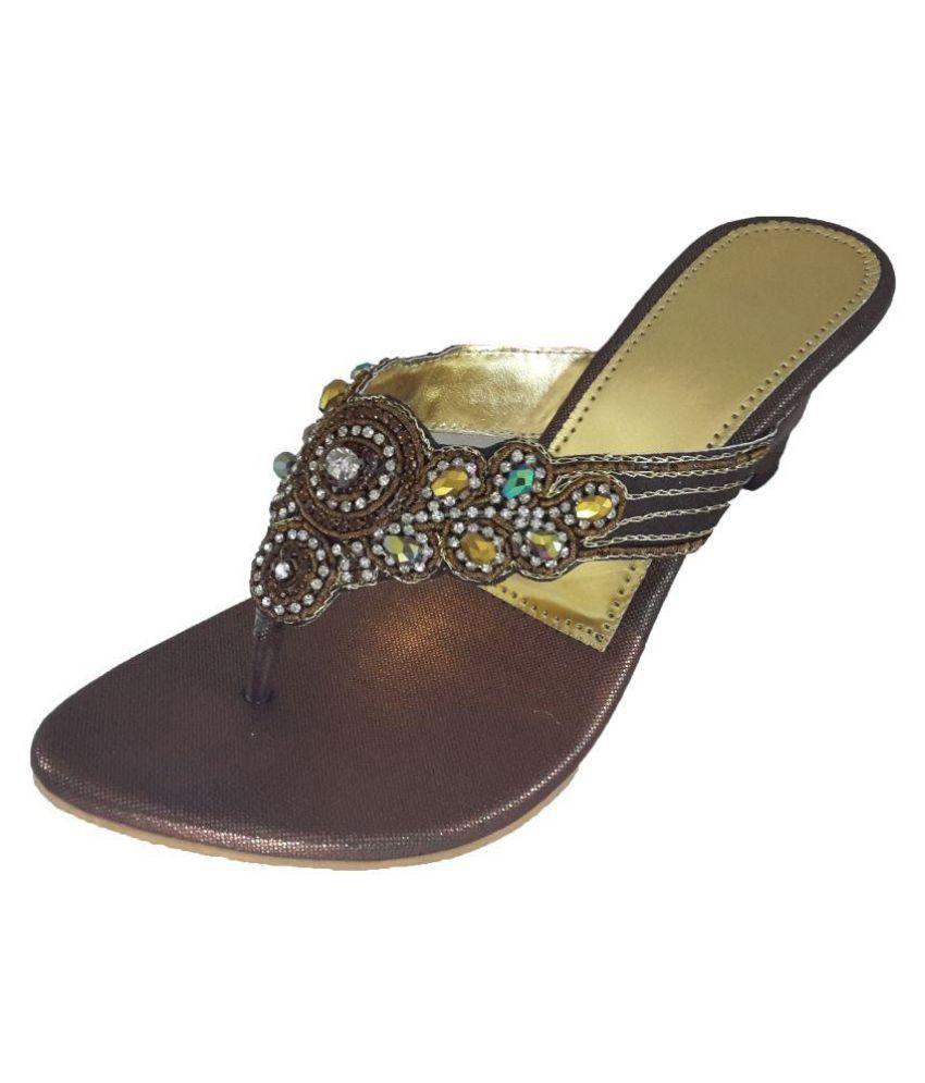 Mapp Tan Wedges Heels