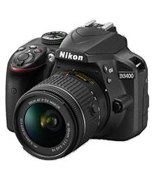 Nikon D3400 with AF-P DX NIKKOR 18mm-55mm f/3.5-5.6G VR Lens + AF-P DX NIKKOR 70mm-300mm f/4.5-6.3G ED VR Lens , Memory card and Bag