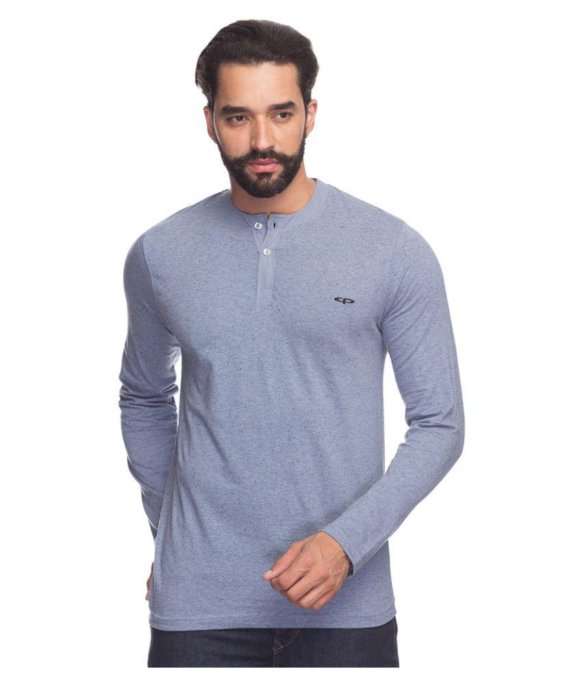 Colorplus Grey Henley T-Shirt