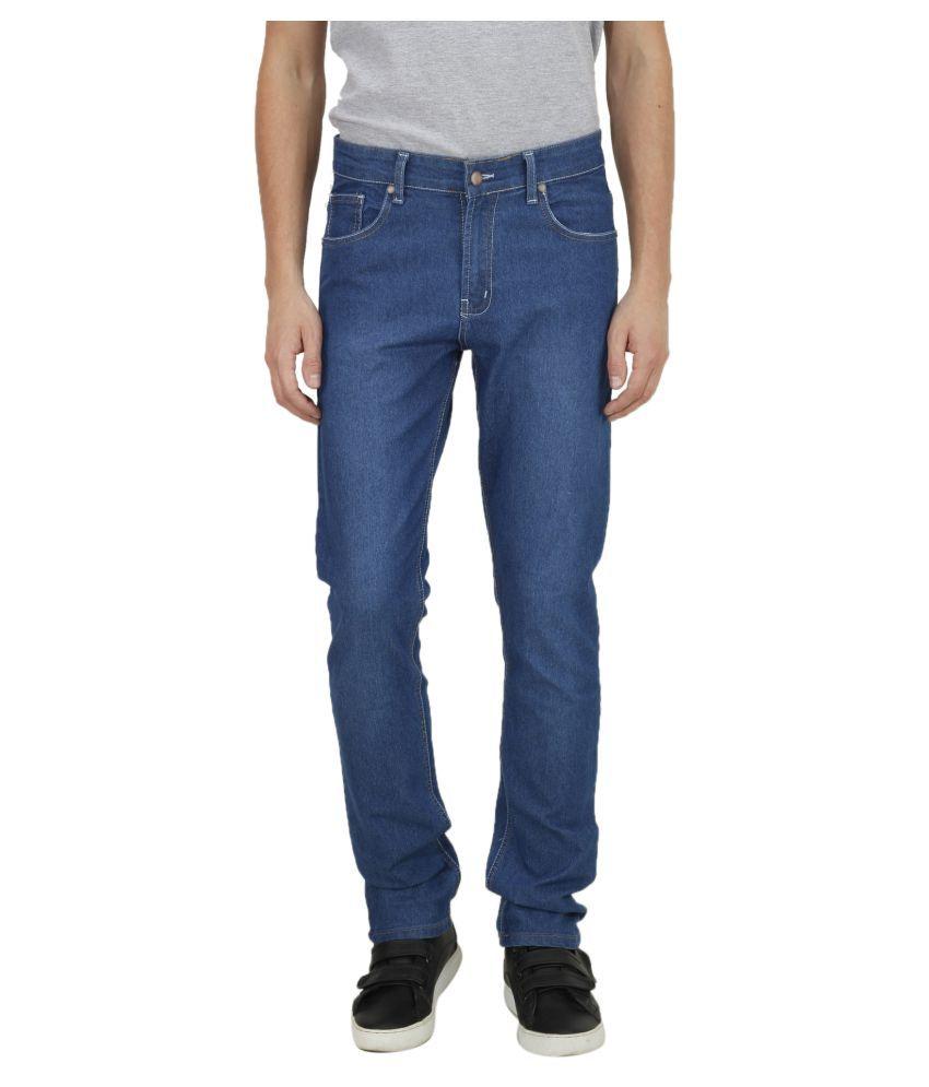 American Indigo Blue Slim Solid