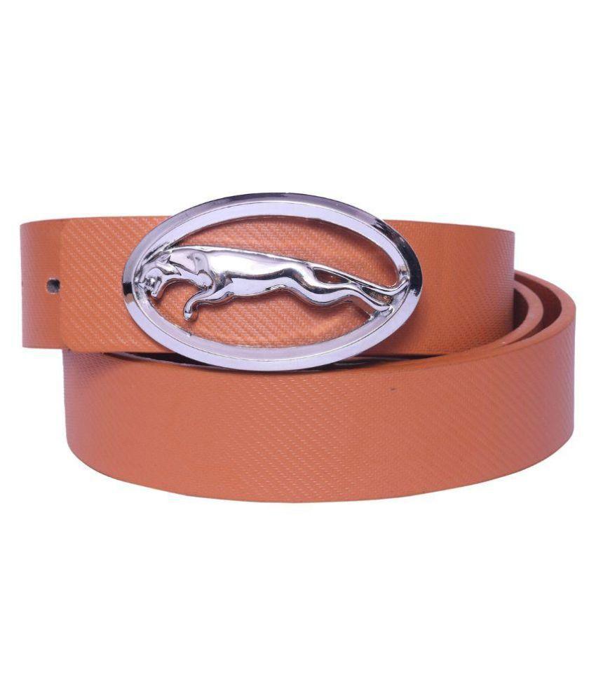 Oodi Tan PU Casual Belts