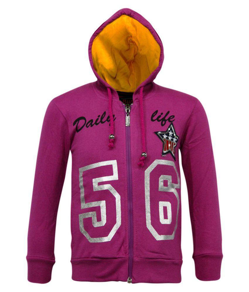 Kothari Pink Cotton Sweatshirt