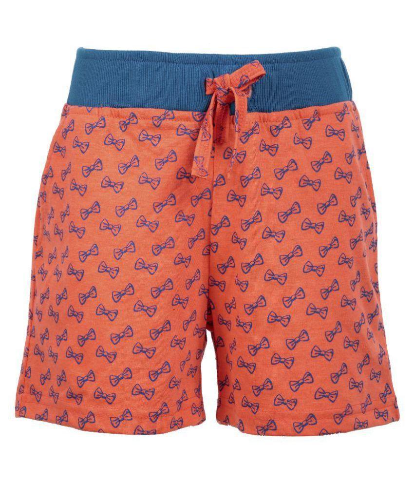 Posh Kids Orange Cycling Shorts