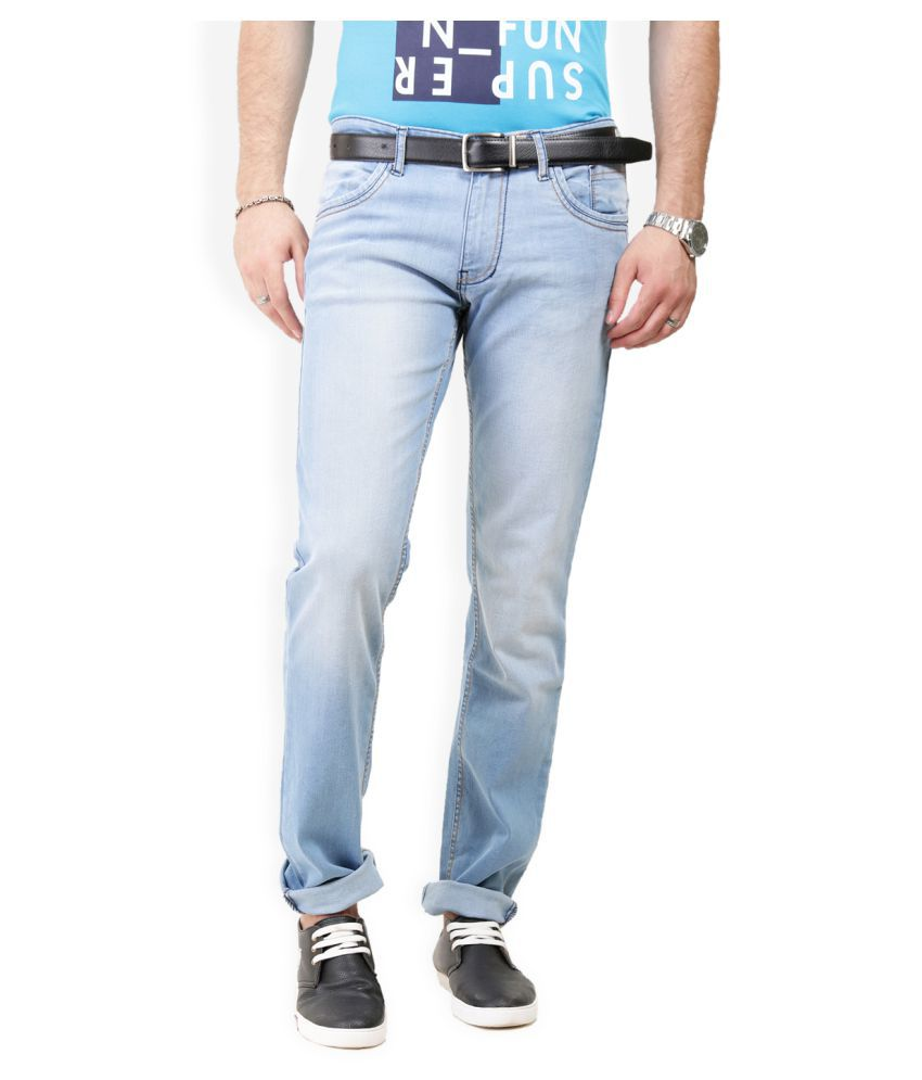 Police Blue Slim Solid