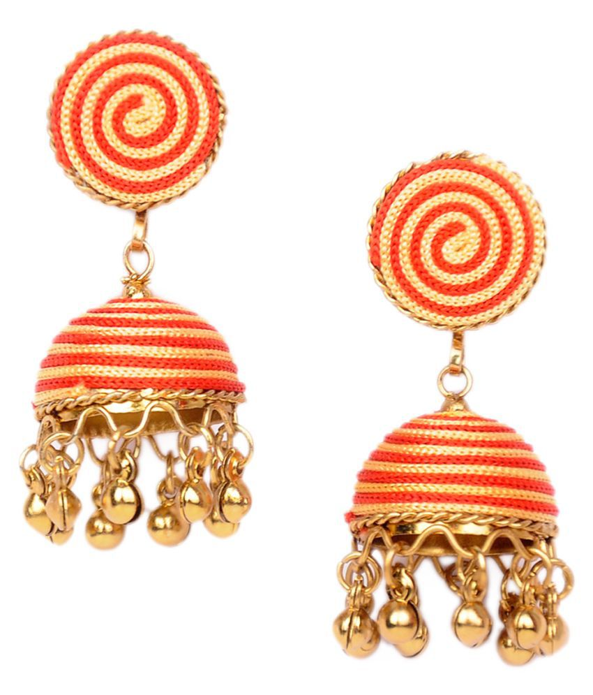 SheIsPerfect Multicolor Jhumkis