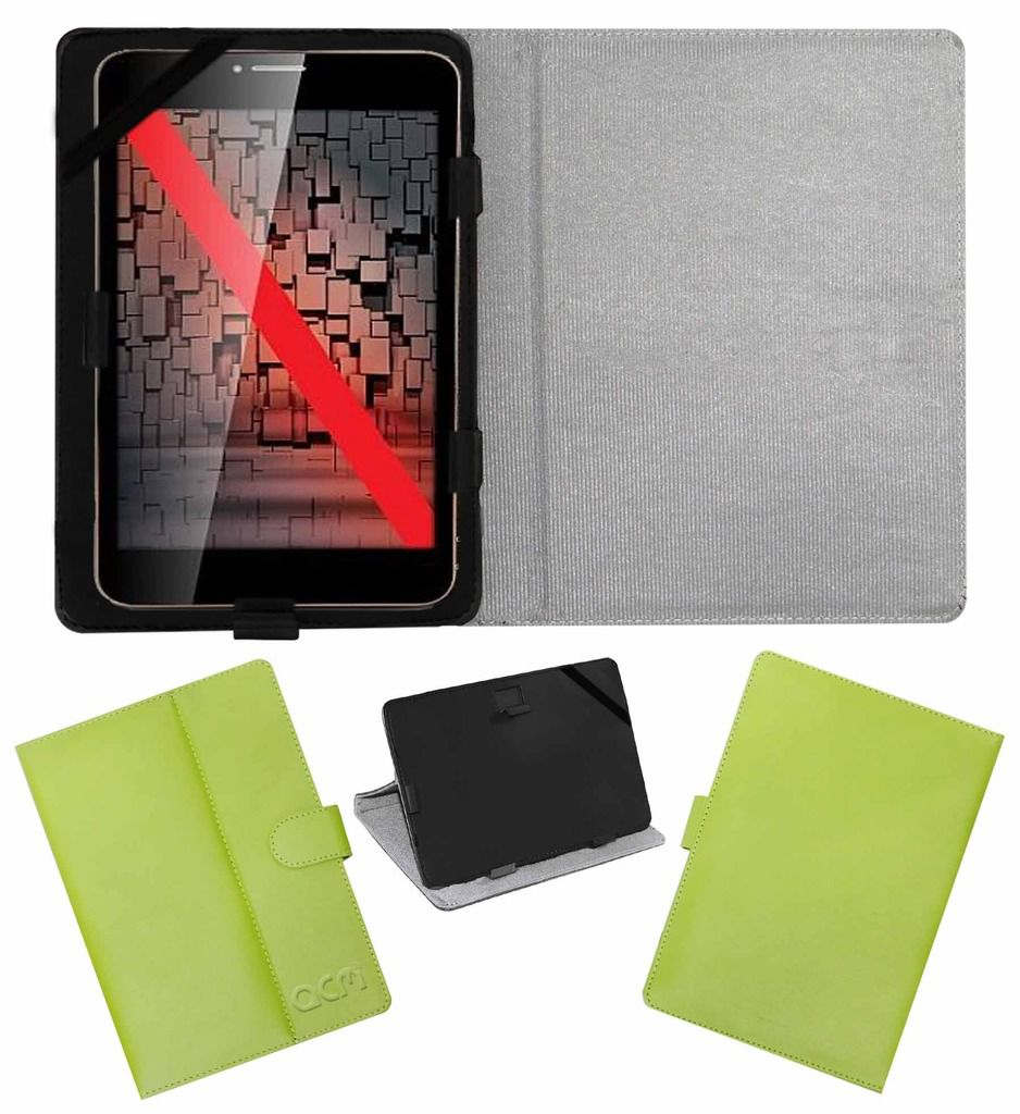 iBall Slide 6095 Q700 Flip Cover By ACM Green available at SnapDeal for Rs.319