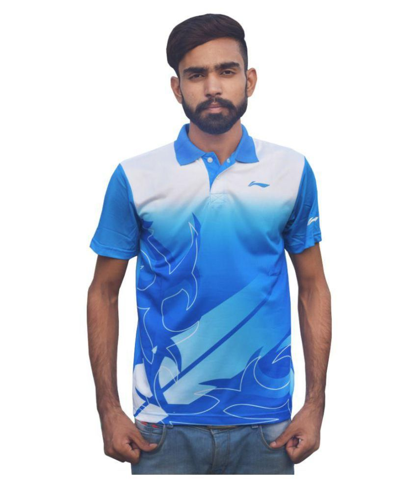 Li-Ning Multi Polyester Polo T-shirt Single Pack