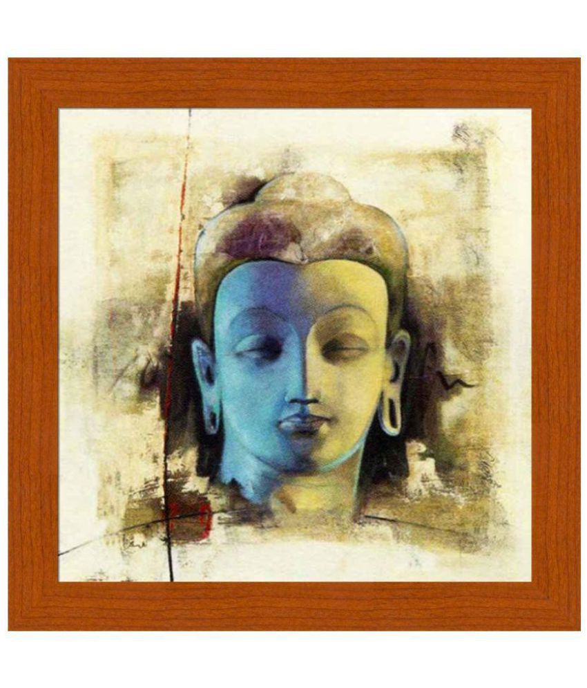 Painting Mantra Art by Artstreet Canvas Art Prints With Frame Single Piece