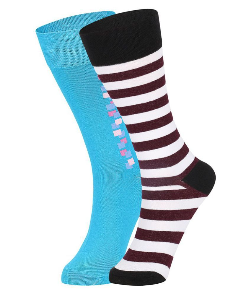 Dukk Multi Casual Full Length Socks