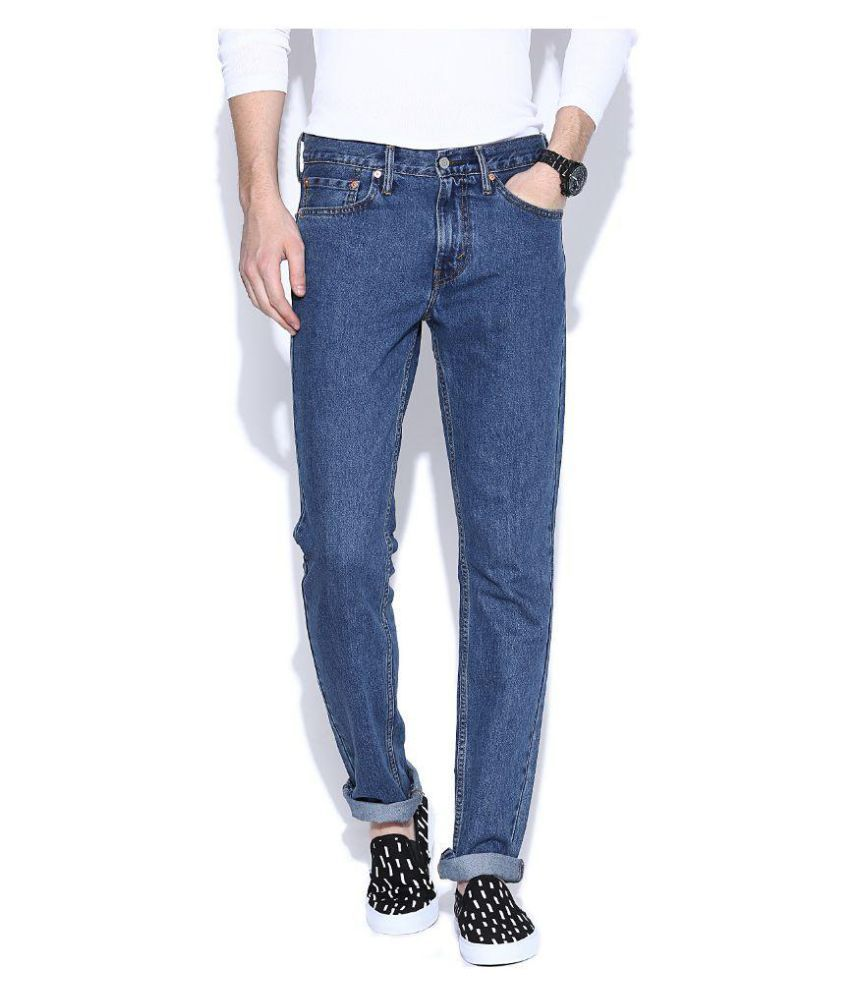 Levis Red Blue Slim Basic