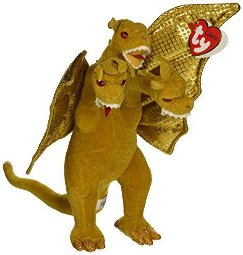 3119f3b2875 Godzilla King Ghidorah Beanie Babies ~9