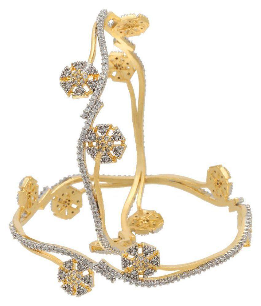 Prita Golden Bangle - Set of 2