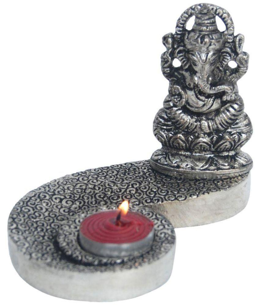 Aakrati Ganesha Aluminium Idol