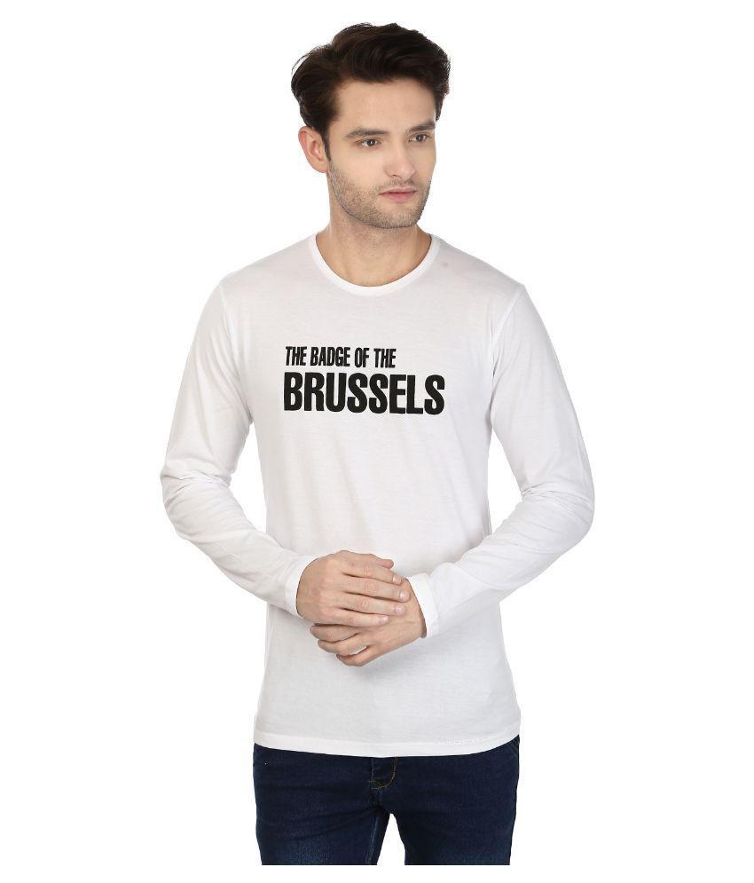 Buxus White Round T-Shirt