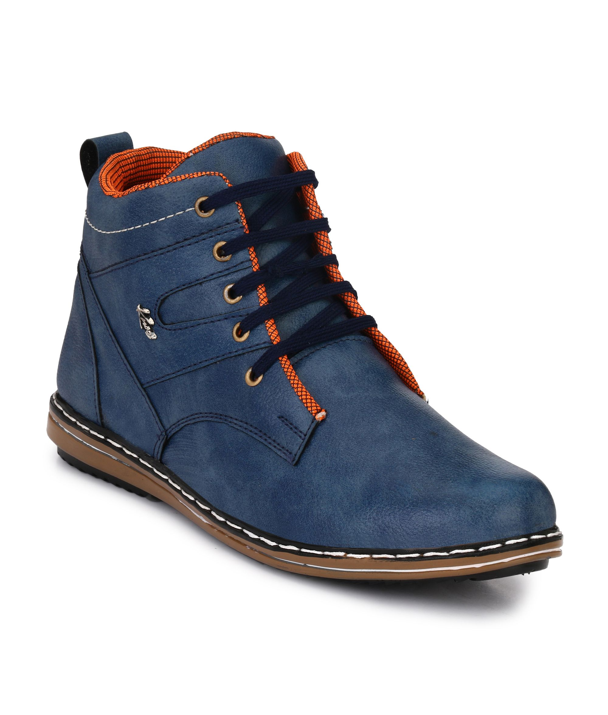 Knoos Blue Casual Boot