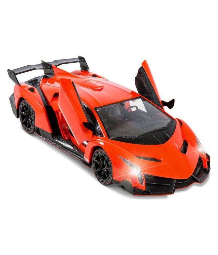 Flipzon Rc Lamborghini Veneno Style Rechargeable Car 1 14 With