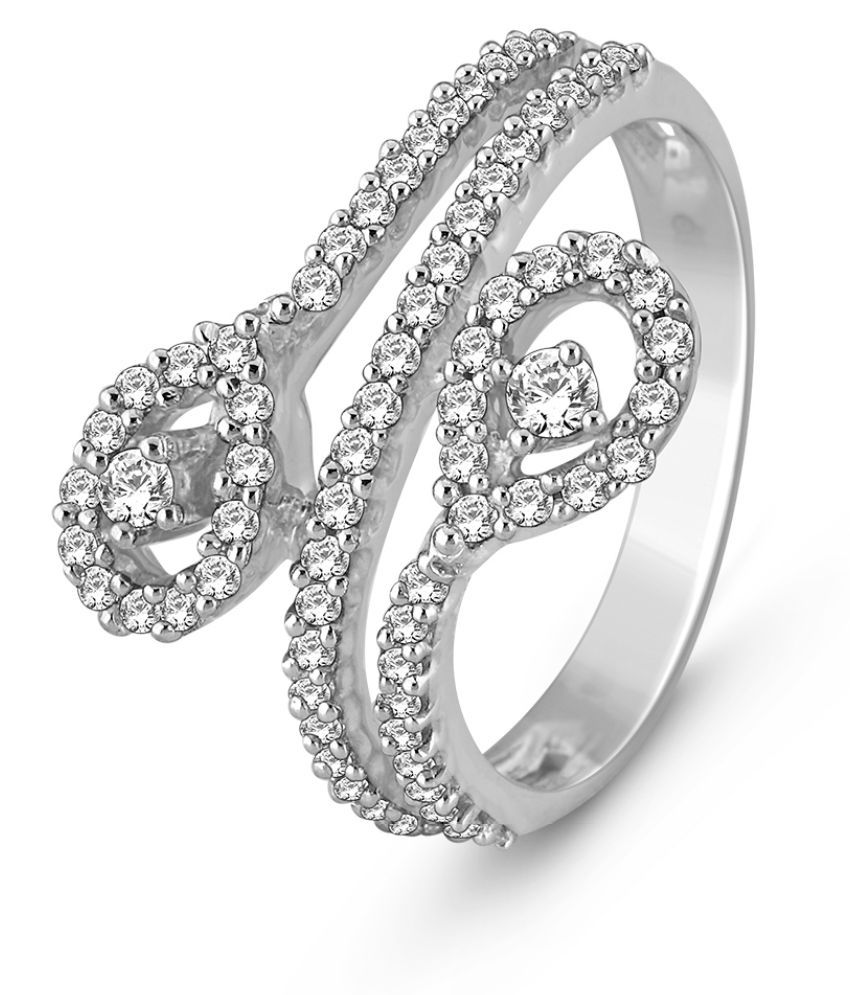 MyZevar 18k White Gold Ring