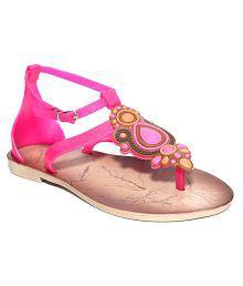 Shoe Lab Pink Flats