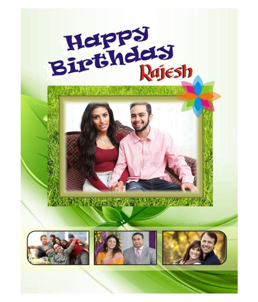 Personalised Birthday Card A3 size Buy Online at Best Price in – Online Personalised Birthday Cards