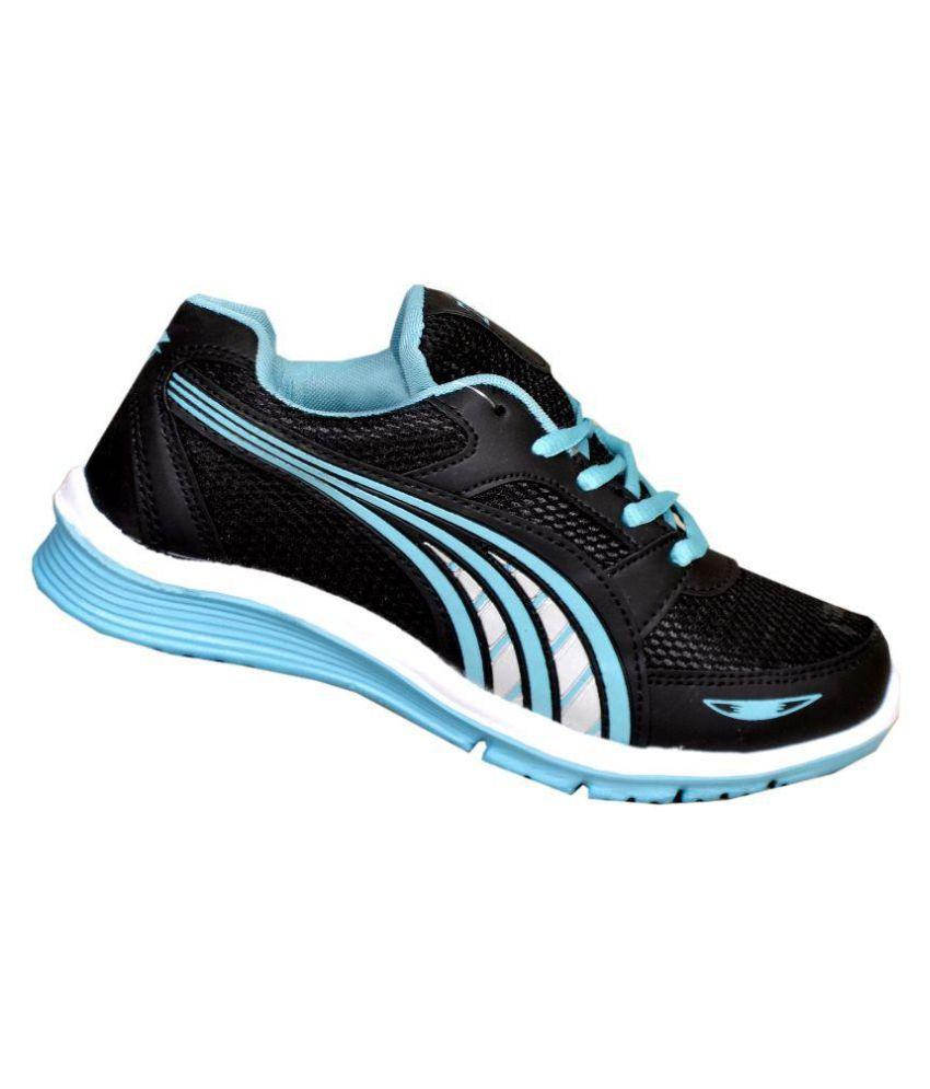 Zrix Black Running Shoes