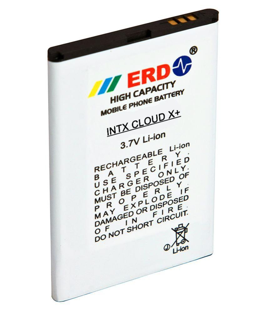 ERD 1200mAh Battery (For Intex Cloud X Plus)