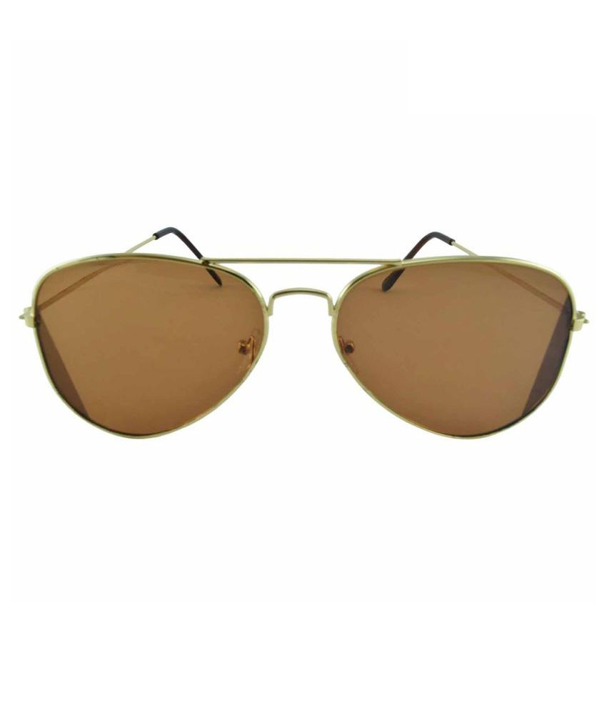 49599fbea26f Polo House USA Brown Aviator Sunglasses - Buy Polo House USA Brown Aviator Sunglasses  Online at Low Price - Snapdeal