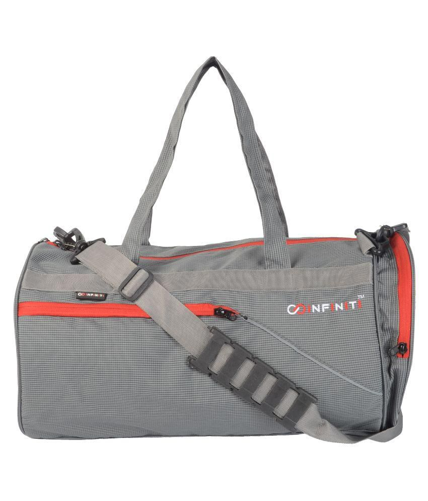 Infiniti Grey Gym Bag