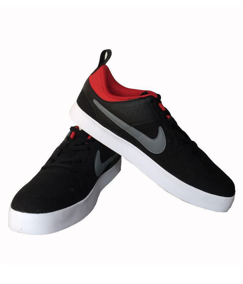 ... nike liteforce iii sneakers black casual shoes
