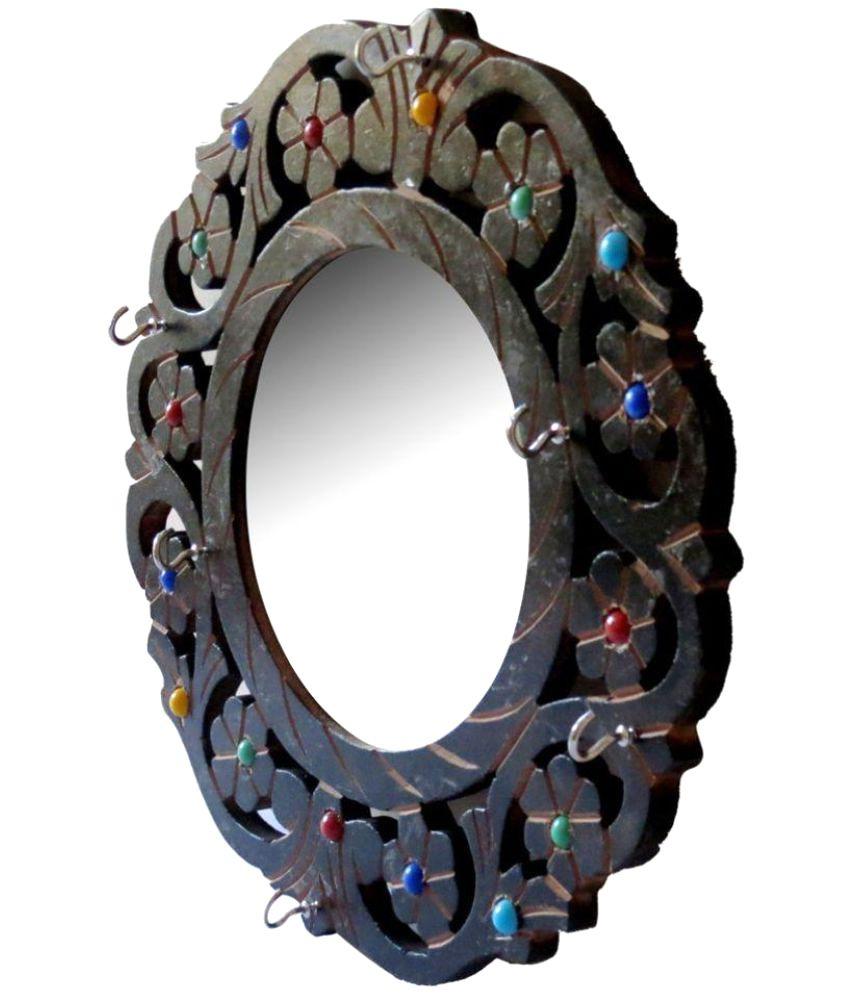 WORTHY SHOPPEE Mirror Wall Mirror Brown