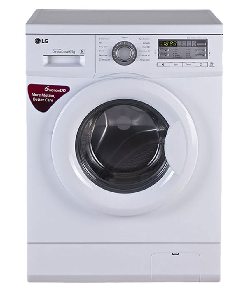 LG Upto 6 Kg FH0B8NDL2 Fully Automatic Front Load Washing Machine White