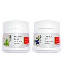 Krishkare Herbals Facial Scrub 400 Gm Pack Of 2