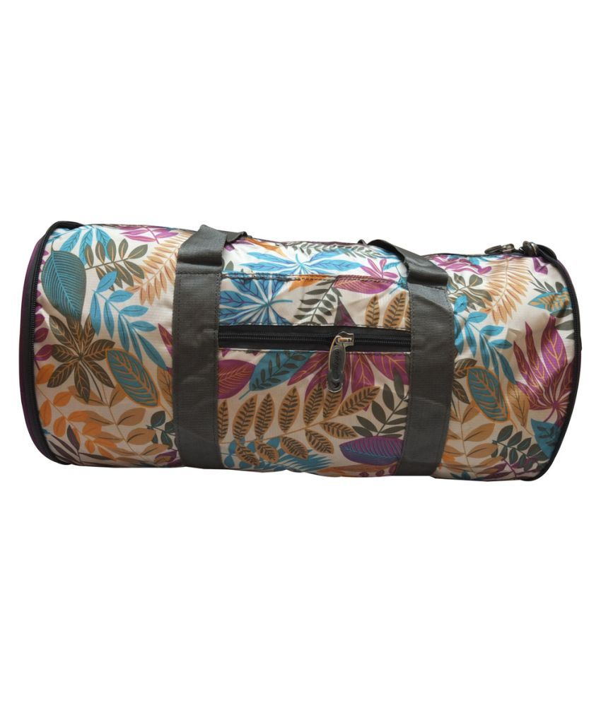 Donex Multicolor Gym Bag