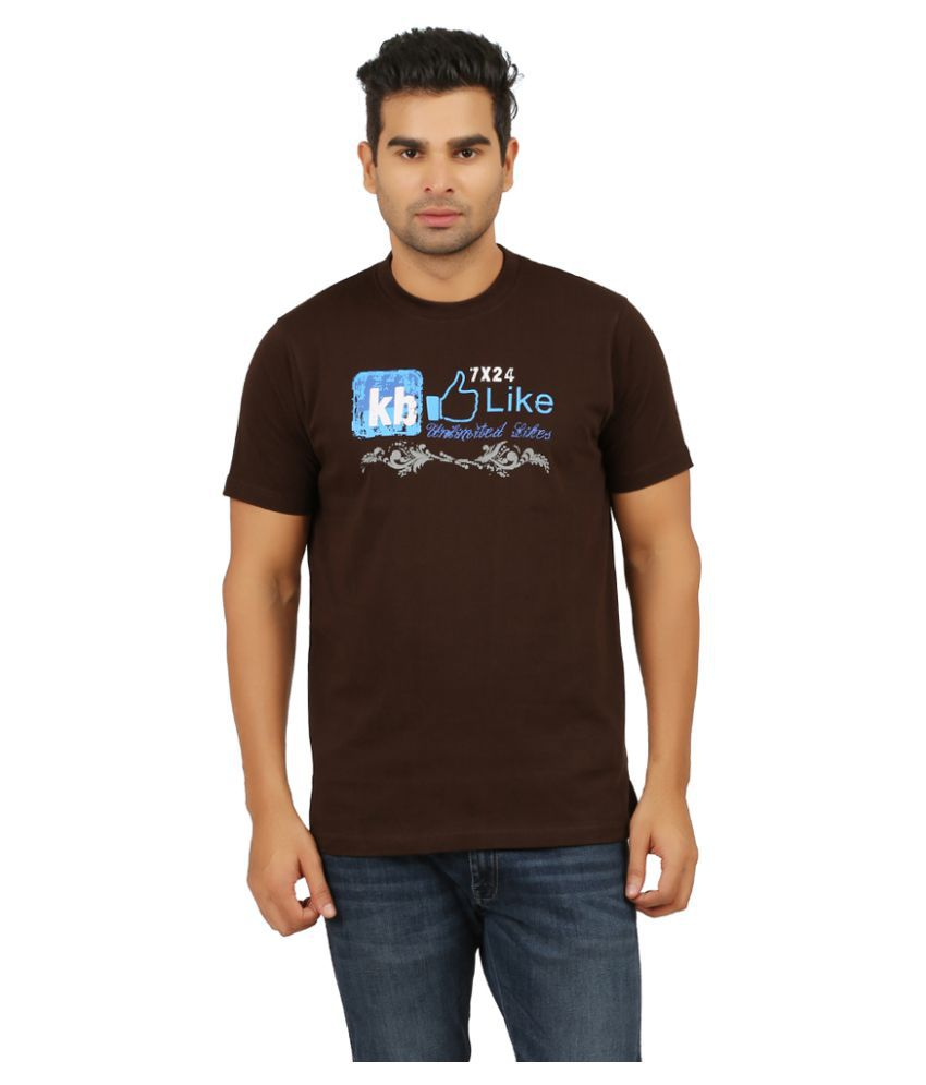 KB Polo Brown Round T-Shirt