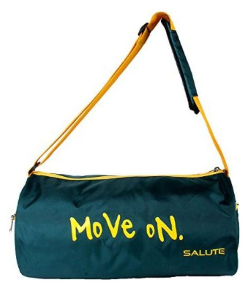 Saturn Green Gym Bag
