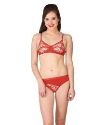 Body Figure Red Lace Shaping Bra