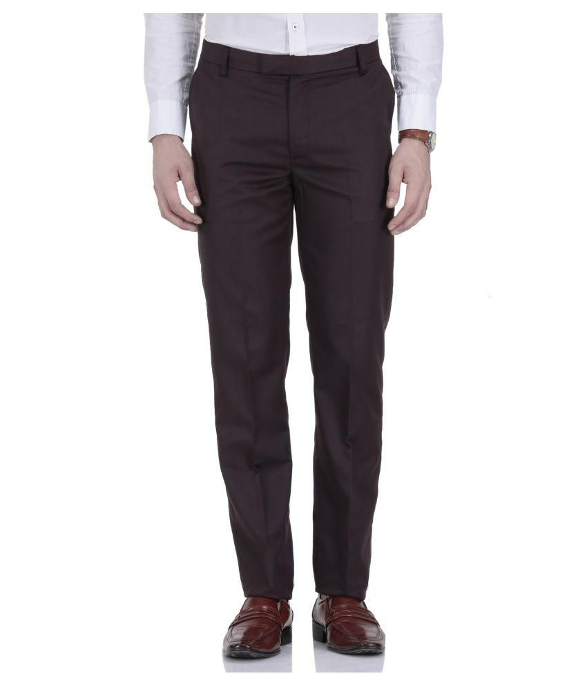 Roy Brown Slim Flat Trouser