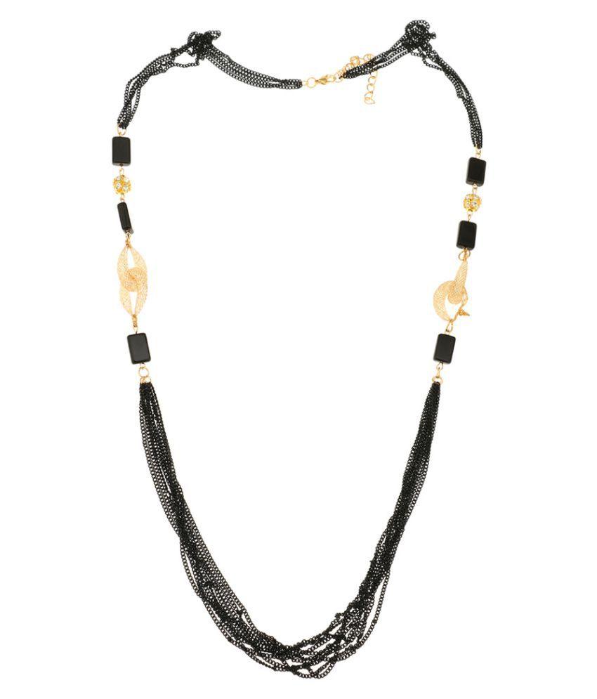 Arihantt Jewels Black Necklace