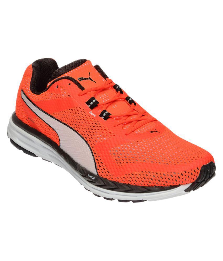Puma Speed 500 IGNITE Orange Running Shoes Buy Puma Speed