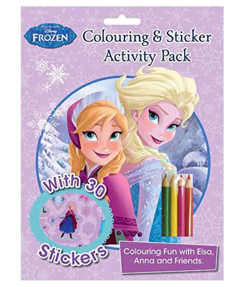 Disney Frozen Colouring And Sticker Acti Buy Disney