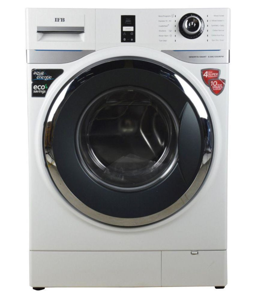IFB 6.5 Senorita Smart 6.5 Kg White Fully Automatic Fully Automatic Front Load Washing Machine Whitle